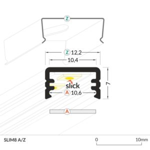 LED_profile_SLIM8_dimensions